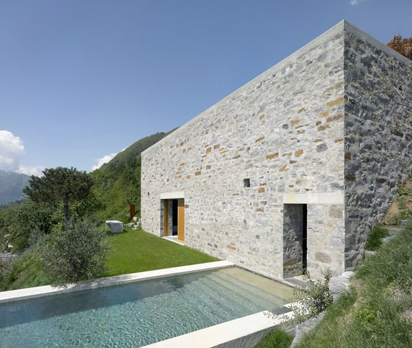 featured posts image for Beautiful stone house in Switzerland with lake views