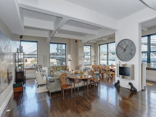 featured posts image for Gorgeous Clocktower loft in Brooklyn