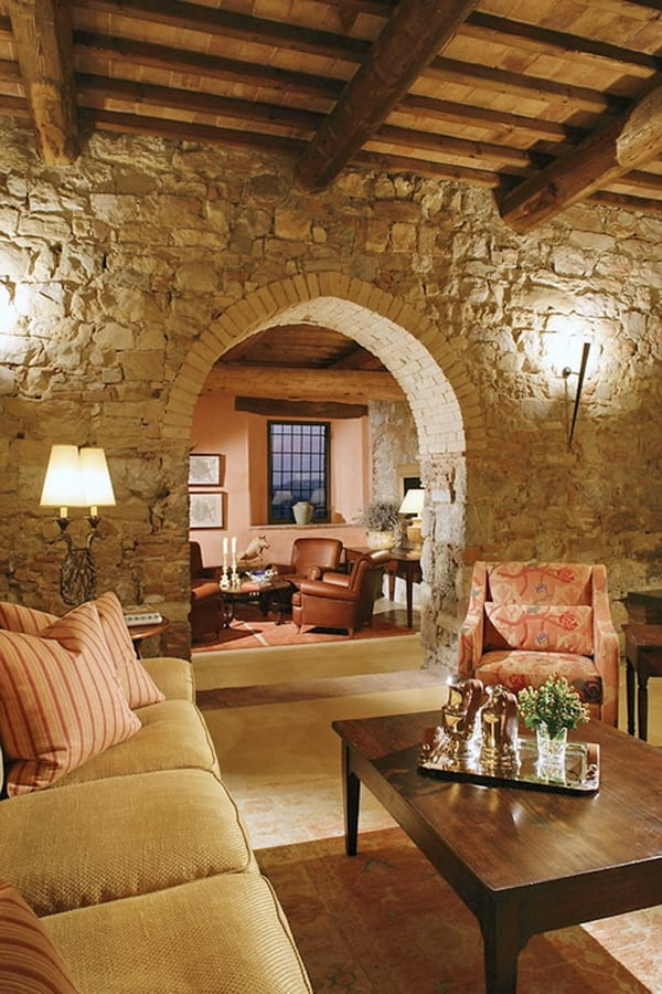 Restoration Of A Historic Castle In Tuscany