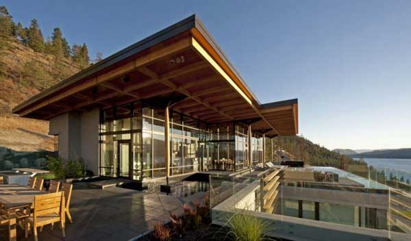 featured posts image for Stunning contemporary home on Okanagan Lake