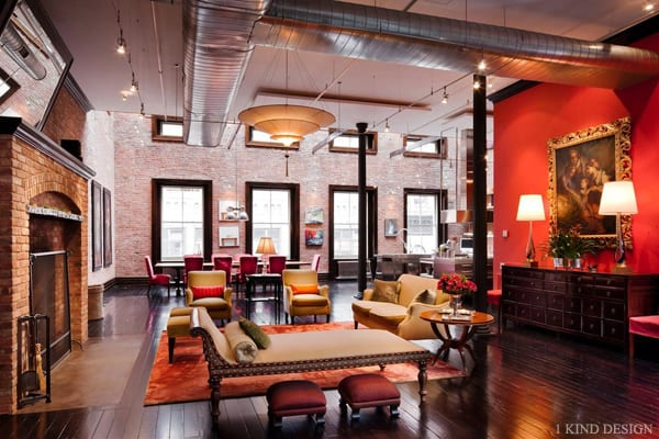 featured posts image for Magnificent loft mansion in TriBeCa