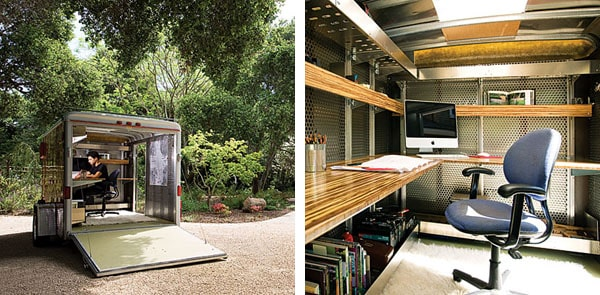 Living In A Vintage Airstream Trailer