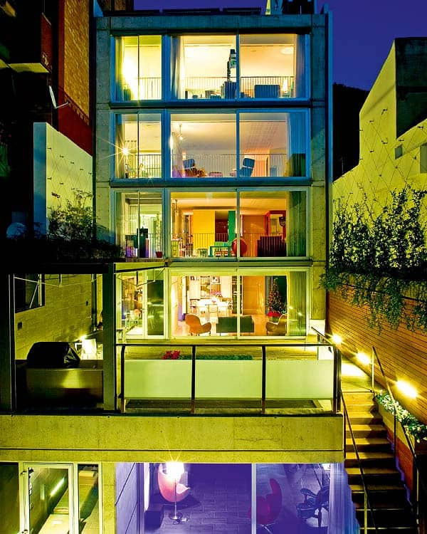 featured posts image for Glass and concrete dream house in Barcelona