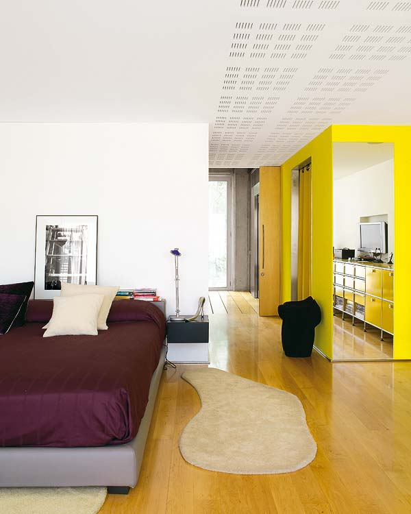 Glass and concrete dream house in barcelona for Home design agency barcelona