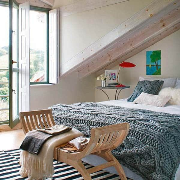 featured posts image for 27 Spectacular attic bedroom designs