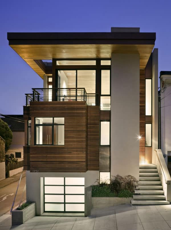 featured posts image for Bernal Heights Residence with dramatic city views