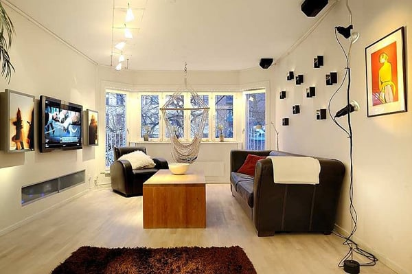 featured posts image for Impressive Swedish apartment with clever design