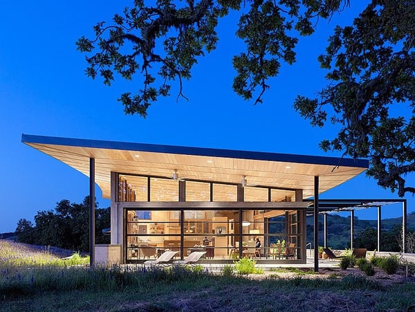featured posts image for Caterpillar House on the Santa Lucia Preserve