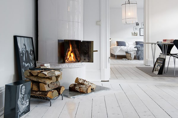 featured posts image for Gothenburg apartment with charming interiors