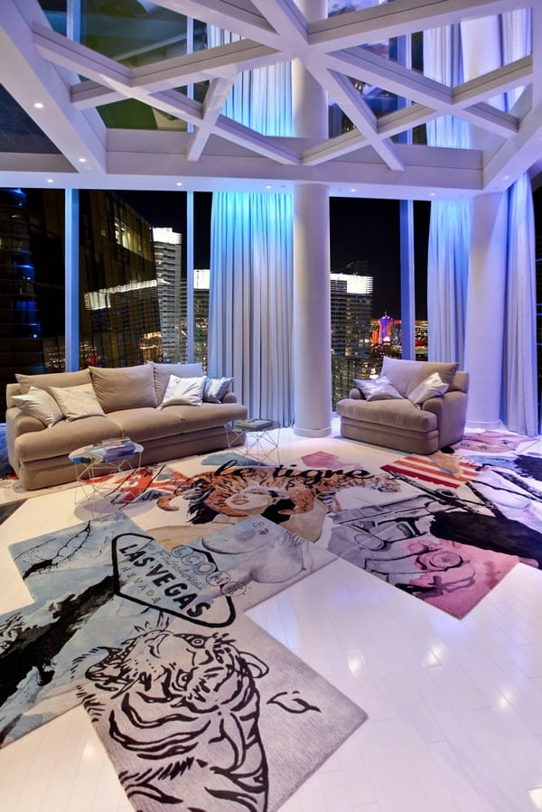 featured posts image for Extravagant Penthouse design in Las Vegas
