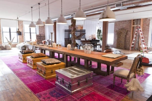 featured posts image for An incredibly fascinating New York loft