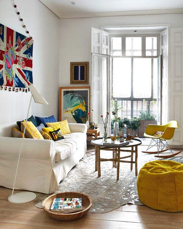 featured posts image for Delightful apartment that bursts with color and energy