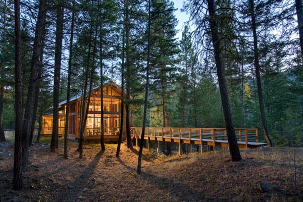 featured posts image for Gorgeous mountain cabin nestled in Methow Valley