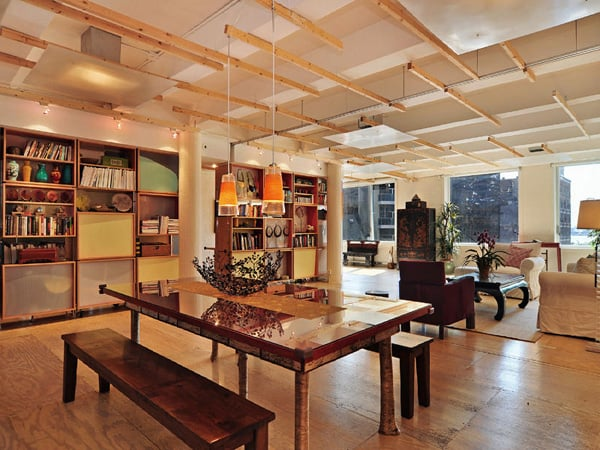 featured posts image for Fabulous industrial-style Soho loft