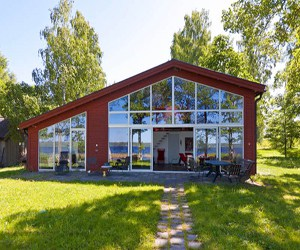 featured posts image for Inspiring villa overlooking Lake Vidöstern
