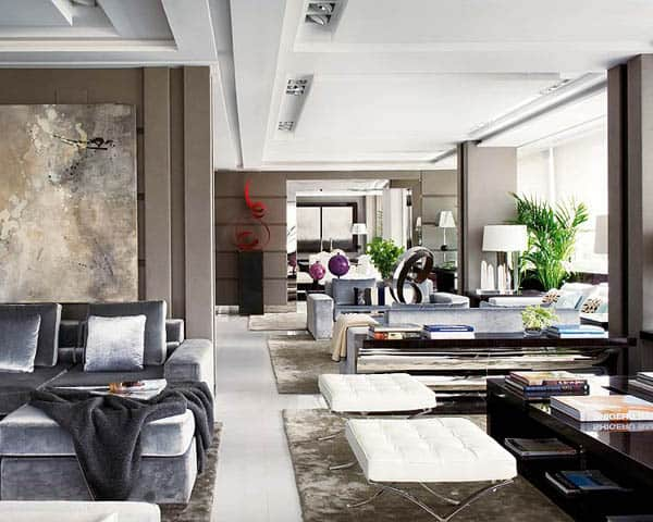 featured posts image for Captivating Madrid residence flooded with elegant style