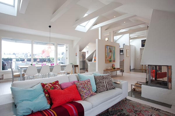 featured posts image for Exquisite loft space featuring stylish details