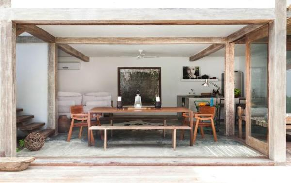 featured posts image for Bohemian chic vacation home in Brazil