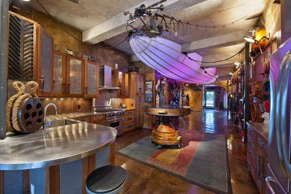 featured posts image for Exceptional steam punk-inspired pad in Chelsea