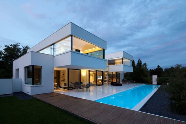 What Is Bauhaus Style bauhaus style home within a picturesque landscape one kindesign