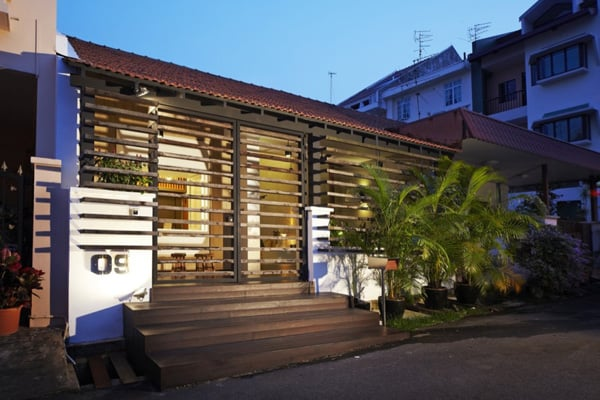 featured posts image for Small house with big design in Singapore