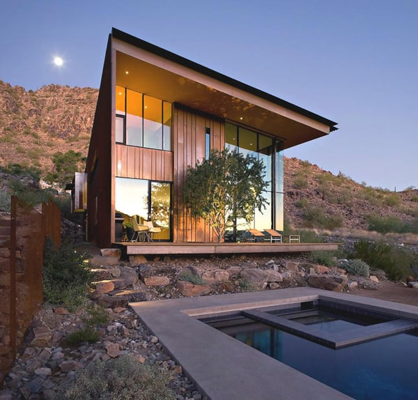 featured posts image for Stunning modern dwelling in the mountains