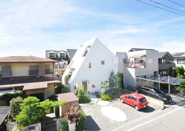 featured posts image for A unique compact dwelling in Okazaki