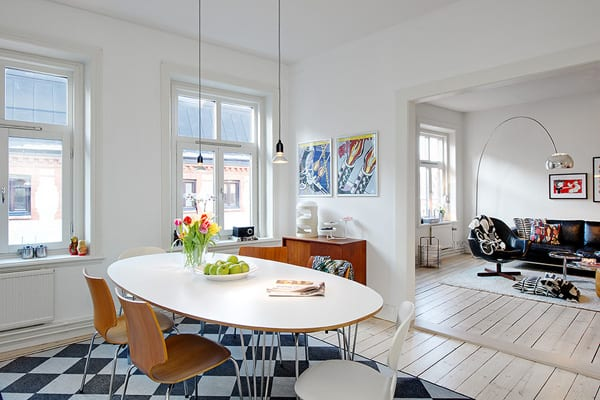 featured posts image for Modern and cozy apartment in Linnestaden