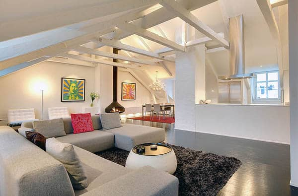 featured posts image for Magnificent modern loft with lavish interiors