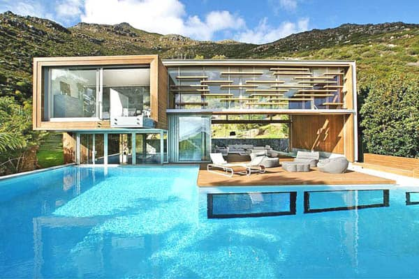 featured posts image for Spa House in the South African mountainside