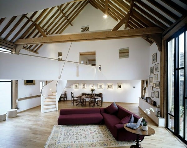 featured posts image for Innovative contemporary barn conversion