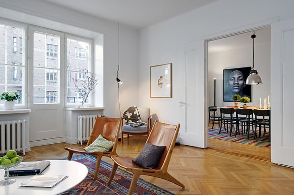 featured posts image for Bright and airy apartment in Vasastaden