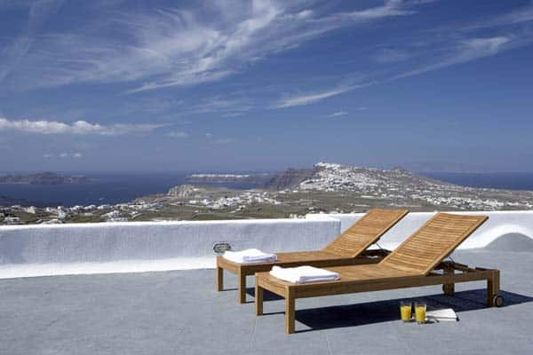 sleek and stylish retreat on santorini Cornwall Cottages to Rent York Cottage Inside