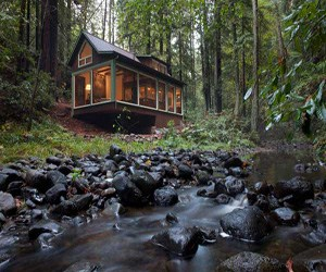 featured posts image for Rustic creekside cabin retreat