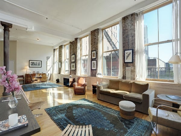 featured posts image for A dramatic pre-war loft space in SoHo