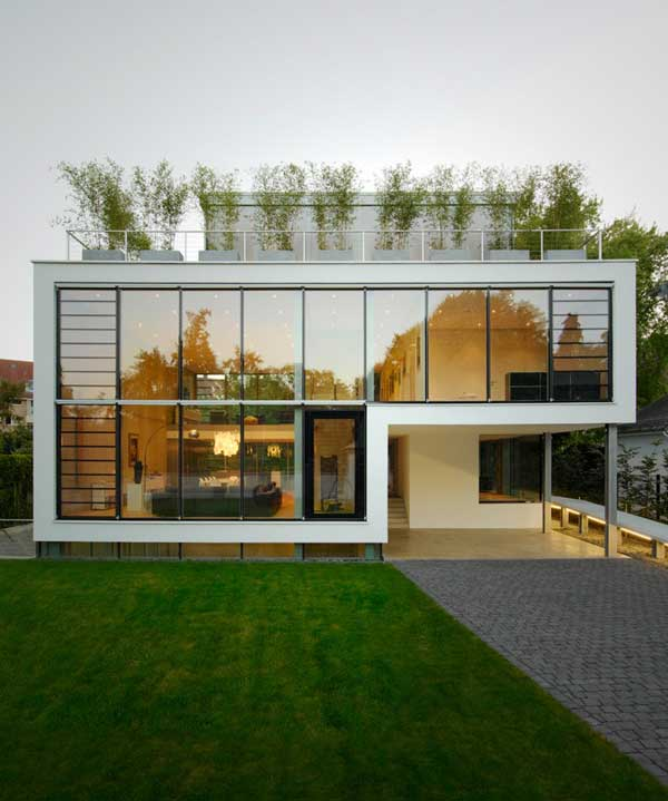 featured posts image for Beautiful four-storey modern villa in Germany
