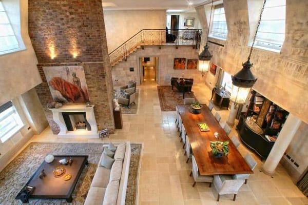 featured posts image for Exquisite London duplex with luminous interiors