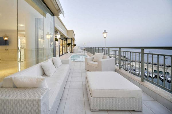 featured posts image for Spectacular luxury penthouse on the island of Malta