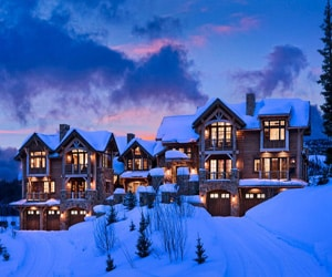 featured posts image for A picturesque ski chalet in Big Sky
