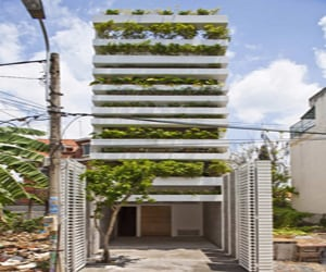 featured posts image for Fascinating stacking green house in Vietnam