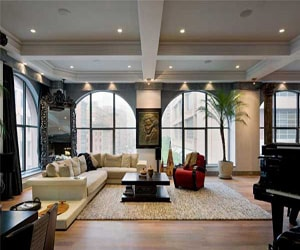 featured posts image for Striking TriBeCa Loft with intriguing details