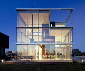 featured posts image for Modern aluminum and glass home in Amsterdam