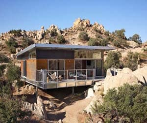 featured posts image for Sleek modular dwelling in the Mojave Desert