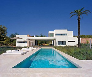 featured posts image for Modern Ibiza dream home with Spanish elements
