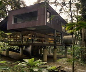 featured posts image for Tropical beach house in the Brazilian jungle