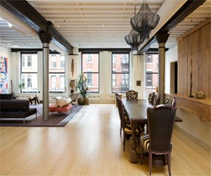 featured posts image for Breathtaking TriBeCa loft with stunning details