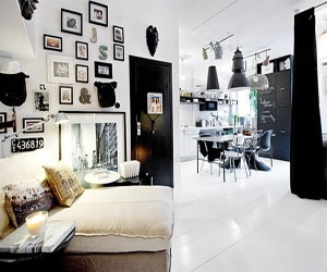 featured posts image for Chic studio apartment with a stylish urban design