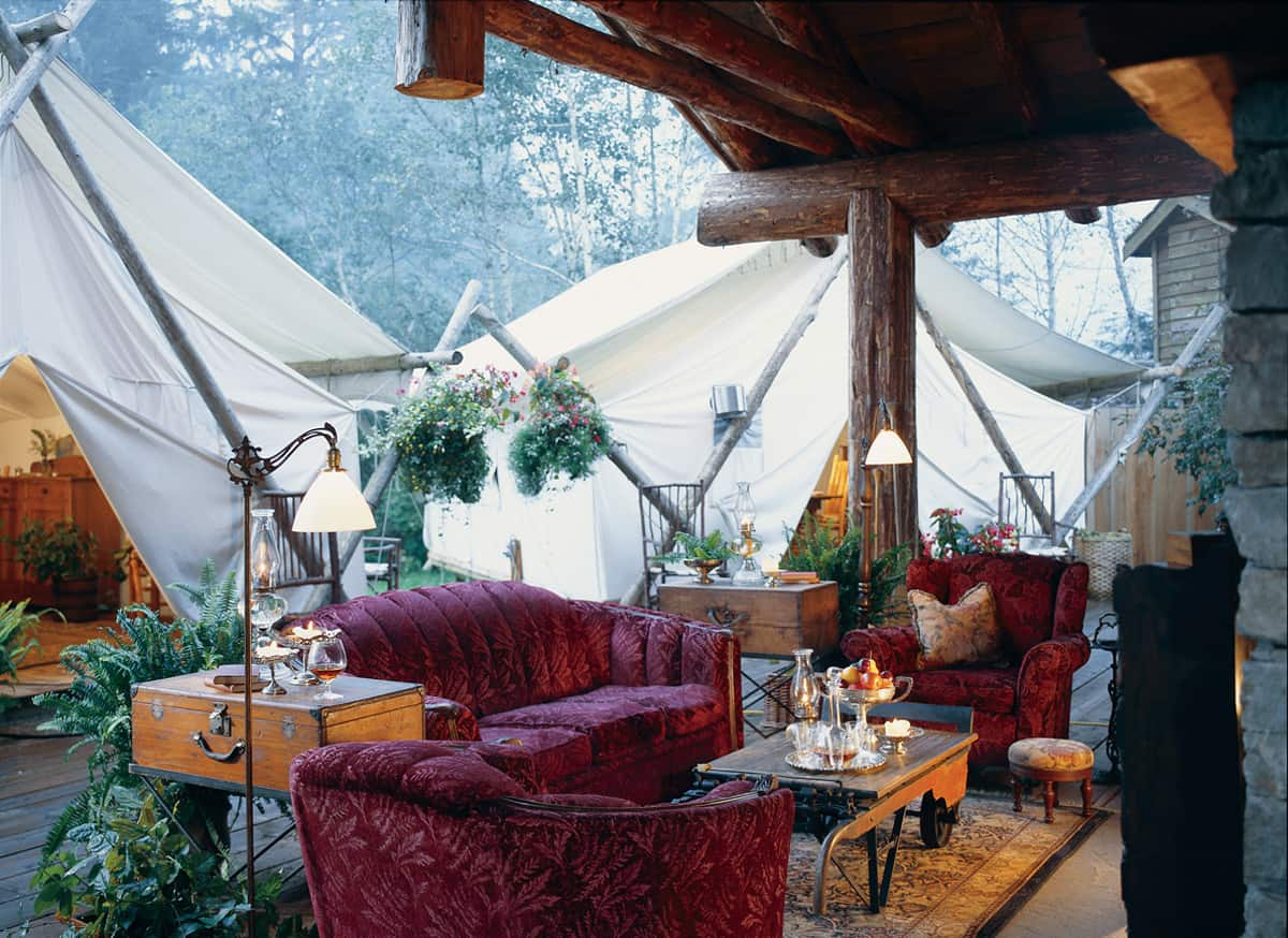 featured posts image for Glamping at the Clayoquot Wilderness Resort