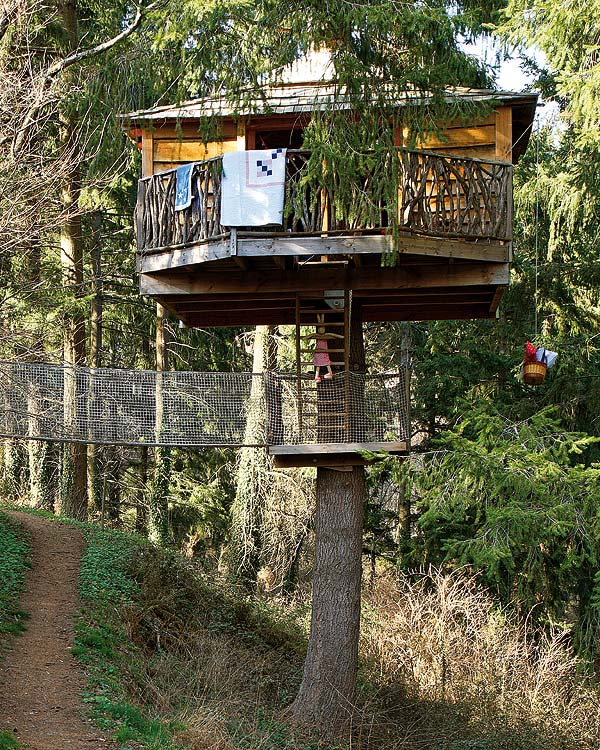 featured posts image for Playful treehouse refuge in Catalonia