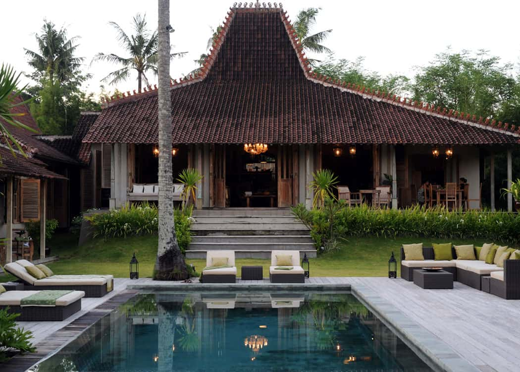 featured posts image for Tropical Javanese Joglo villa in Bali
